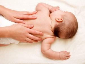 Профессиональный массаж для детей