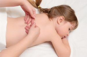Медицинский массаж детям