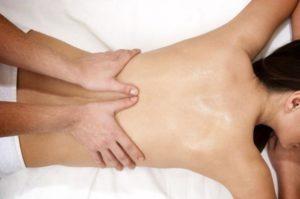 Полный массаж спины